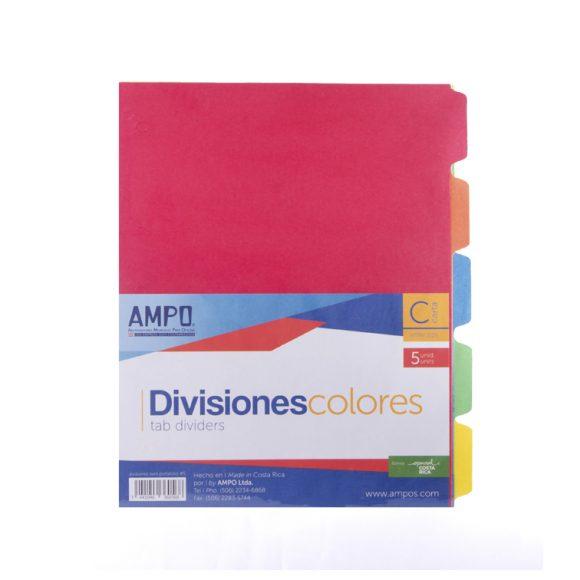 Divisiones 5 Colores