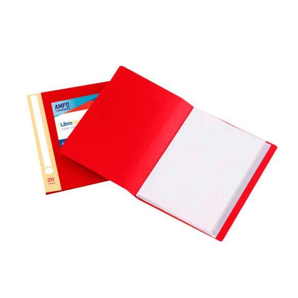 libro presentación hojas transparentes